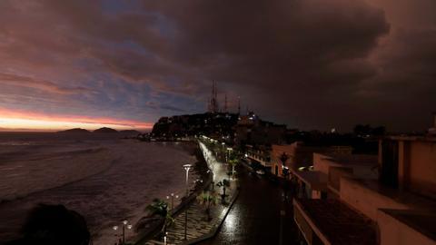 Hurricane Willa makes landfall in Mexico