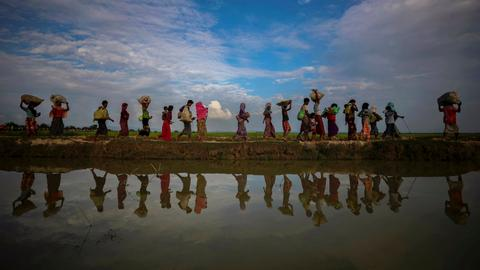 'Ongoing genocide' under way against Myanmar's Rohingya Muslims: UN