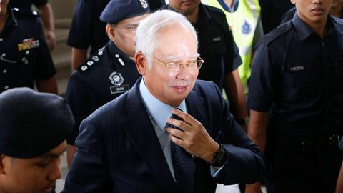 Former Malaysian PM Najib, ex-treasury chief charged in $1.6B graft case