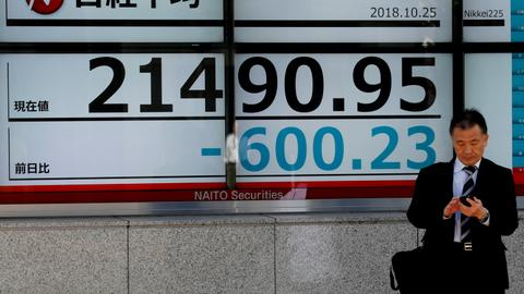 Stocks crumble as global growth, US earnings fears spook markets