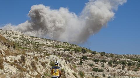 'Fiercest' shellfire yet around Syria truce zone - monitor