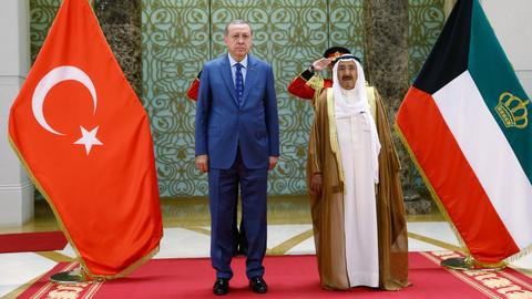 Why is Kuwait approaching Turkey for military cooperation?
