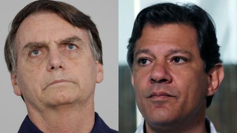 Brazil's leading far-right candidate spreads fear ahead of Sunday's polls