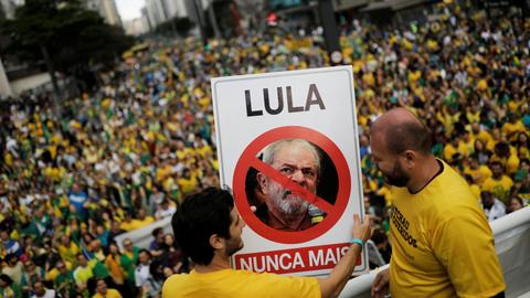 Former Brazilian leaders Rousseff and Lula accused in fresh graft case