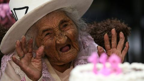 Bolivia's 'oldest woman' celebrates 118th birthday