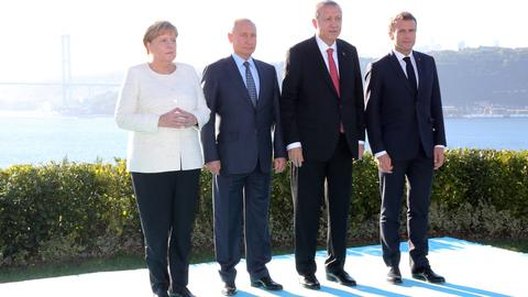 Four-way summit on Syria ends in Istanbul