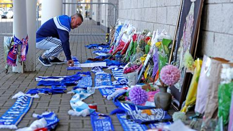 Leicester City owner, four others were on crashed helicopter – report