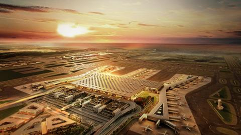 Istanbul's new airport to launch today with aim of boosting aviation sector