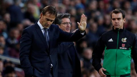 Lopetegui sacked as Real Madrid coach