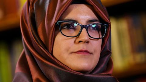 Khashoggi fiancee says Riyadh behind his murder, criticises Trump response