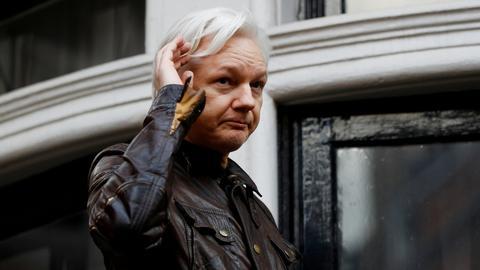 WikiLeaks' Assange says Ecuador seeking to end his asylum