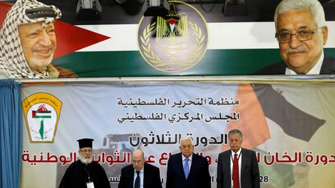 Palestine Liberation Organisation suspends recognition of Israel