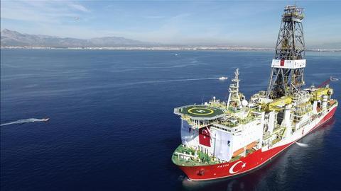 Turkey begins deep drilling offshore in Mediterranean