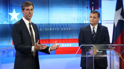 Cruz and O'Rourke see Texas victories in differing visions