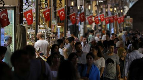 Turkish Central Bank revises inflation forecasts