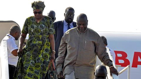 South Sudan rebel leader Machar back in Juba after two years