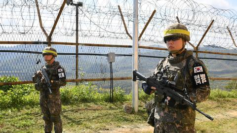 No-fly zone, military drill ban near Korea border take effect