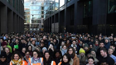 Google workers stage walk out in global protest against treatment of women