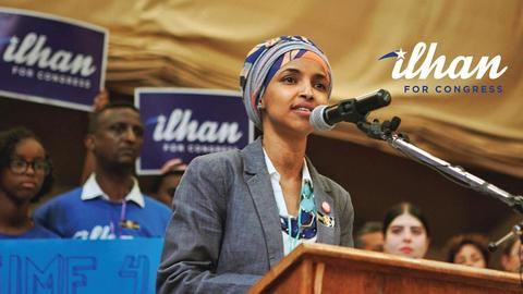 The campaign against Ilhan Omar