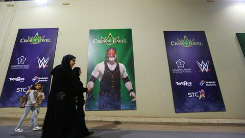 Saudis host WWE event despite boycott calls over Khashoggi murder