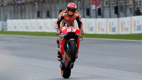 World champion Marc Marquez wins Malaysian MotoGP