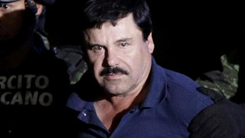 'El Chapo' in dock for biggest US drugs trial