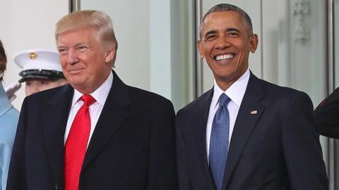 Trump and Obama make duelling stops in US campaigns' closing rush
