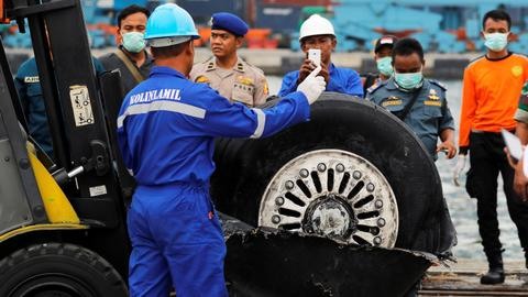Indonesia jet had damaged airspeed indicator on last four flights