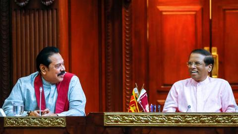 Sri Lanka's political stalemate, in pictures