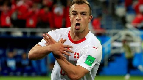 Kosovo-born Shaqiri left out by Liverpool for game in Serbia