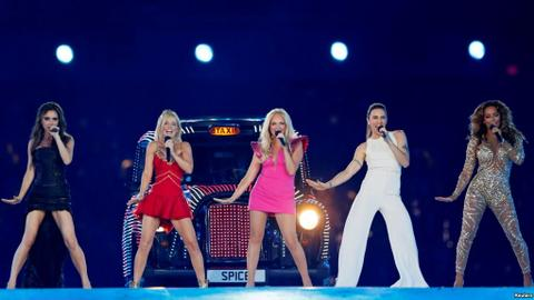 British pop band Spice Girls reunites for UK tour