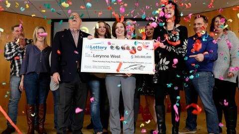 Iowa granny takes massive payout after winning US Powerball lottery