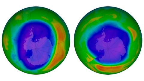UN report says ozone layer is healing