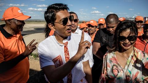 Madagascar ex-president Rajoelina leads in vote count - initial results