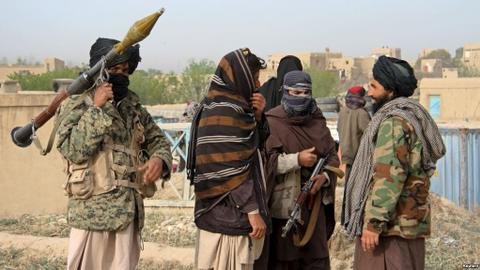 Fighting rages in strategic Afghan province ahead of Russia peace talks