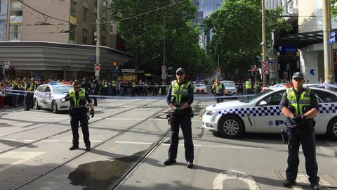One dead, two hurt in Australia 'terror' attack