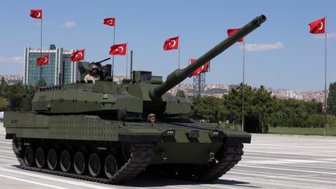 Contract signed for Turkish battle tank mass production