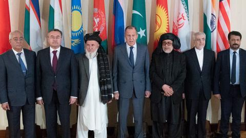 Kabul delegation, Taliban attend Afghan peace talks in Russia