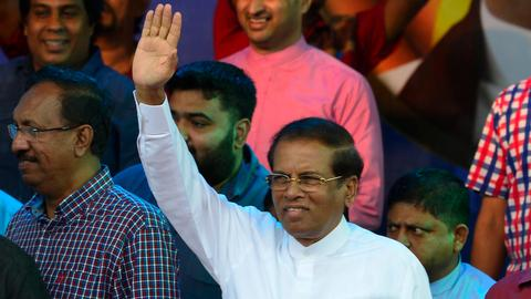 Sri Lanka president dissolves parliament, orders snap vote
