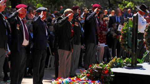 Australia and New Zealand mark WWI armistice centenary