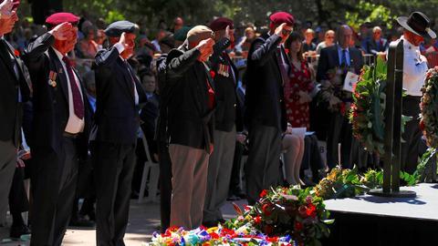 Australia and New Zealand mark WWI armistice centenary