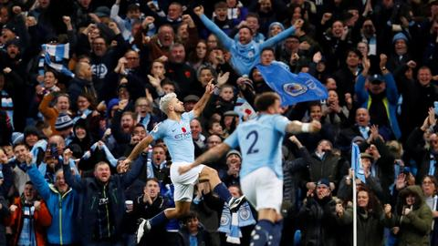 EPL: City win Manchester derby, Liverpool go second above Chelsea