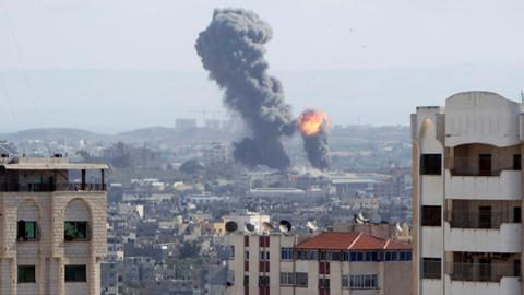 Israeli air strikes kill at least seven in Gaza
