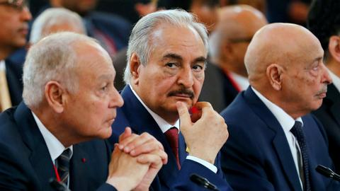 Libyan players in Italy for fresh bid to solve crisis