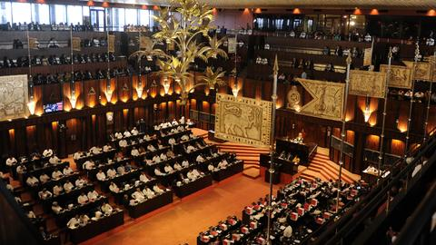 Sri Lanka parties challenge president in court