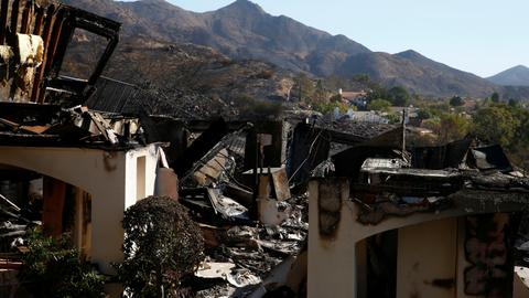 Celebrities among those who lost their homes in California wildfires