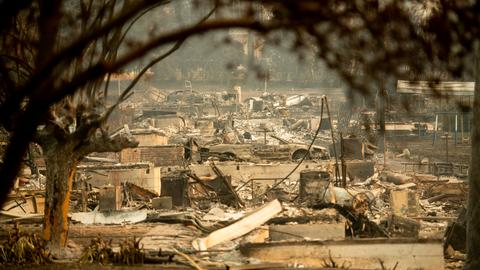 Death toll in 'deadliest' California wildfire jumps to 42