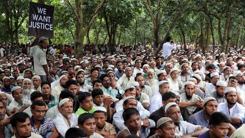 ASEAN to seek 'accountability' in Rohingya crisis – draft statement