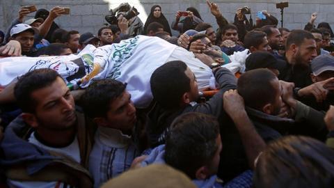 Ceasefire caps deadly Israeli assault on Gaza