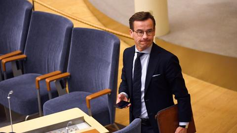 Sweden Parliament rejects centre-right candidate for PM